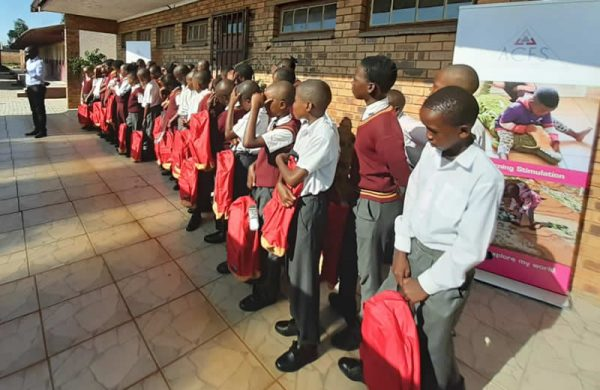 School bags donated